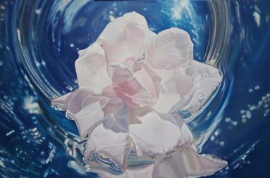 ©Madison Cawein Rose Oil Paintings