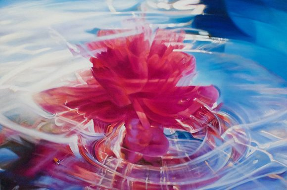 ©Madison Cawein Peony Oil Paintings